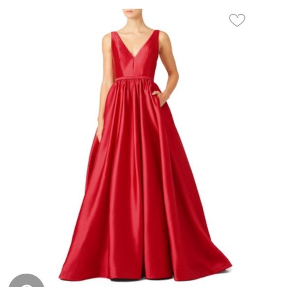 ML Monique Lhuillier Dresses | Pomegranate Gown | Poshmark